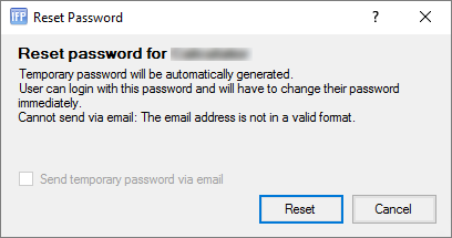 Resetting another User's Password – IFP Help Centre